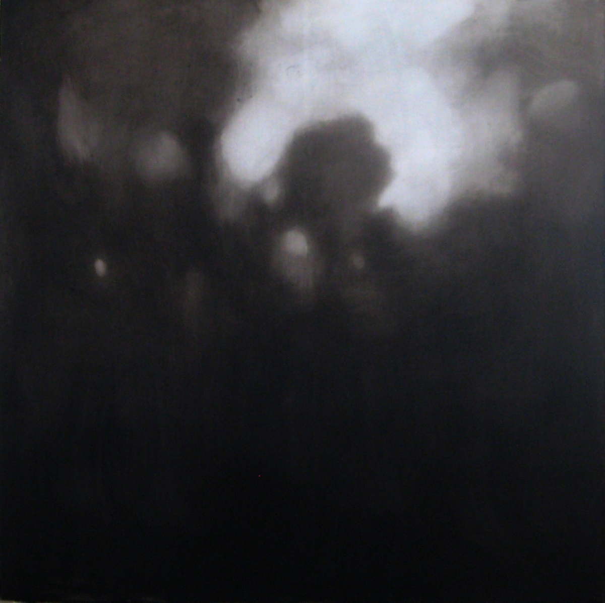 Vastavaloon II, öljy ja pigmentti levylle, 97 x 97 cm, 2017
